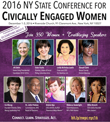 2016 NYS Convention for Civically Engaged Women Invitation