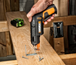 WORX SD Driver with Screw Holder, fastening angle brace.