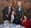 Deepak Sheth, Randall Kremer, Dr. Jeffrey Post, Neena Sheth