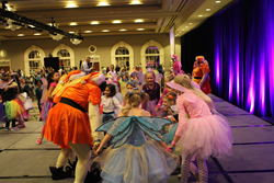 Before breaking the world record, fairies were able to dance on stage and show off their tutu, wings and wand.
