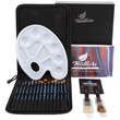 Feathers Artist Paint Brush Set