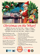 """Monterey's Old Fisherman's Wharf to Hold First Ever: """"Christmas on the Wharf"""" Festivities During December 2016"""