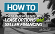 2-Time Best-Selling Author, Chris Goff, will conduct a 2 Day Workshop Teaching You How to Invest in Real Estate with Lease Options and Foreclosures