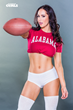 Fitness Gurls Magazine is featuring their Top 10 Favorite College Football programs today Including Model Hope Beel