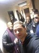 Co-Author Aswaad English with Kenan Thompson and Pete Davidson Backstage on Saturday Night Live November 20, 2016