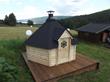 Eurodita manufactured BBQ huts