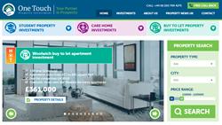 One Touch New Website Screenshot