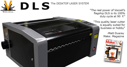 Voccell DLS Professional Laser Cutting  and Engraving System
