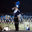 Bob Hope Band Scholarship reciptent Hannah Thornton, drum Major Prospect Marching Knights