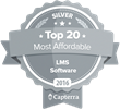 "Edvance360 Named One of the ""Most Affordable LMS"" by Capterra, A Gartner Company"