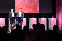 The 2017 Prism Awards for Photonics Innovation will be presented at a gala banquet in San Francisco on 1 February; above, the awards banquet during SPIE Photonics West 2016.