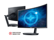 Samsung Electronics Launches Industry's First Quantum Dot Curved Gaming Monitor
