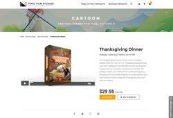 FCPX - Thanksgiving Dinner - Pixel Film Studios Plugin