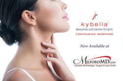 Kybella is now available at MilfordMD Cosmetic Dermatology Surgery & Laser Center