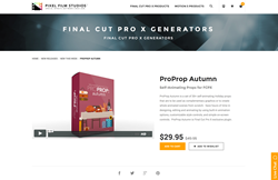 Final Cut Pro X - ProProp Autumn - Pixel Film Studios Plugin