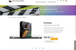 FCPX Plugin - ProFilter - Pixel Film Studios