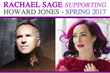 Rachael Sage to Join Howard Jones on Spring 2017 Tour