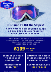 Hampton Golden Ski Package