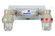 Class 1 Division 1 Emergency Lighting System with LED units