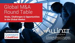 Members of international alliance Alliott Group participated in the Global M&A Round Table
