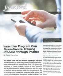Incentive Solutions article in North American Builders magazine