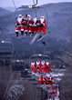Forget the Sleigh: 250 Santas Will Take to the Slopes of Sunday River Resort on Dec. 4, 2016