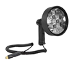 Handheld LED Spotlight Shipped with a Free Tactical Flashlight