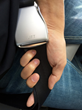 This invention is a device that attaches to both ends of a seat belt.