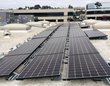 The rooftop system will offset CO2 emissions from 8,206 gallons of gasoline consumed or 77,819 pounds of coal burned.