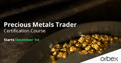 Orbex Precious Metals Trader Certification Course