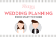 Perfect Wedding Guide Releases Latest Infographic: Wedding Planning from Start to Finish