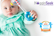 NogginSeek Peek & Seek Cognitive Rattle