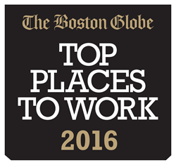 2016 Boston Globe Top Places to Work