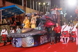 The Battlefield Earth Float, 2016 Hollywood Christmas Parade