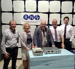 RN Electronics EMC Testing - visit by Sir Eric Pickles
