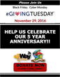 Mixed Roots Foundation Kicks Off End of Year 5 Year Anniversary Fundraising Campaign for #GivingTuesday in Partnership with #eZWay Cares powered by #eZWay Broadcasting