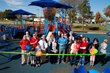 Grand Opening of Unity Adaptive Playground for children of all abilities