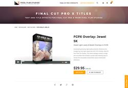 FCPX - FCPX Overlay Jewel 5K - Pixel Film Studios Plugin