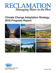 Climate Change Adaptation Strategy Progress Report Cover