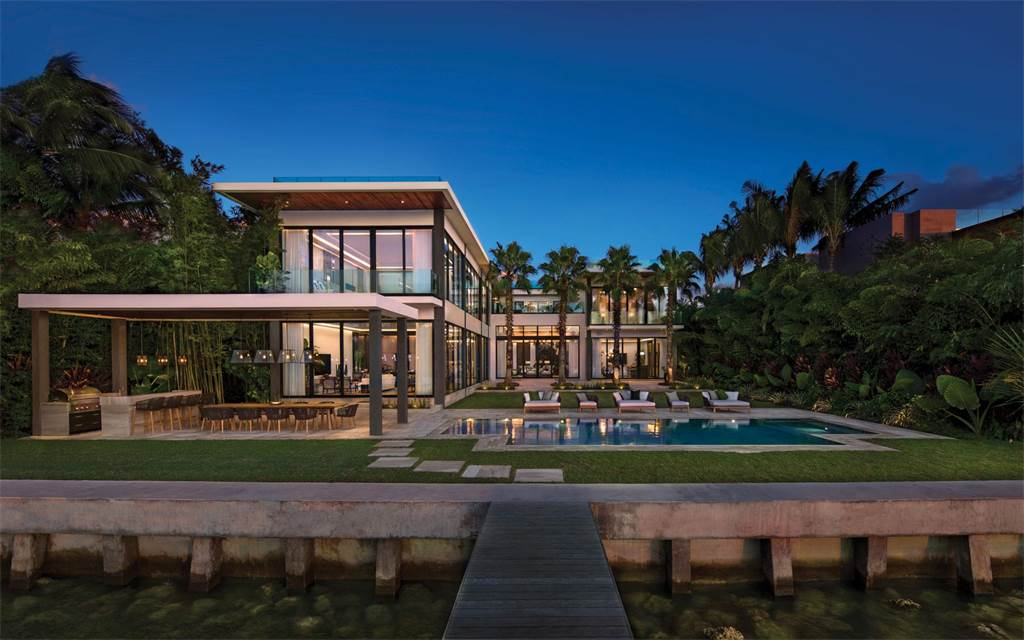 Christie 39 s international real estate returns as marquee for Luxury houses in miami for sale
