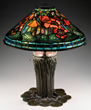 Lot #1305, a Tiffany Studios Poppy table lamp, realized $219,225.