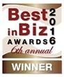 Best in Biz Awards 2016 bronze winner logo