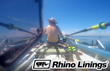 Rhino Linings Sponsors Brothers' Quest to Complete a 3,000 Mile Rowing Race Across the Atlantic