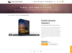 FCPX Plugin - Pro3rd Accents Volume 2 - Pixel Film Studios