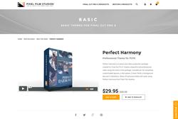 Final Cut Pro X - Perfect Harmony - Pixel Film Studios Plugin