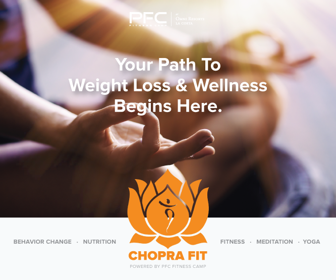 Premier Fitness Camp And The Chopra Center For Wellbeing Launch