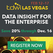 "TDWI Las Vegas Conference and Leadership Summit 2017: ""Data Insight for the Enterprise"""