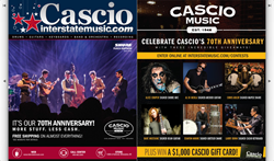 Cascio Interstate Music Holiday Catalog and Contests.