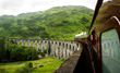 Participants will ride an historic steam train across Glenfinnan Viaduct, just as though they were on their way to wizarding school.