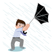 he Lighted Umbrella has a sturdy frame and strong design that allow it to stand up to winds going up to 60 mph